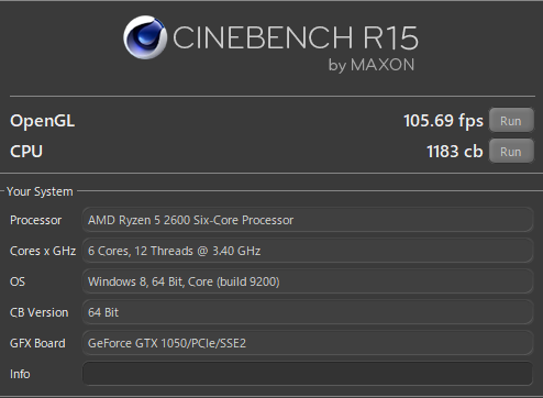 LITTLEGEAR a340BA1 CINEBENCH GPU