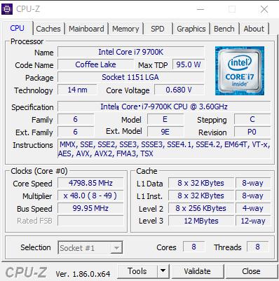 DAIV-DGZ530M1-SH5 CPUZ