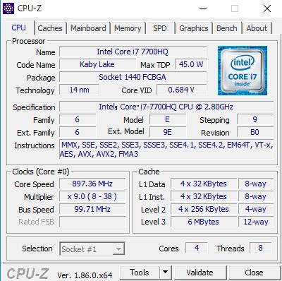 DAIV-NG5720S3-SH5 CPUZ