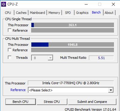 SENSE-15FQP30-i7-QDRX CPUZ スコア
