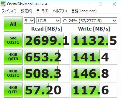 Legion c530 SSD交換
