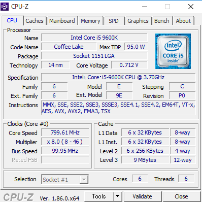 NEXTGEAR-MICRO im620SA1 CPUZ