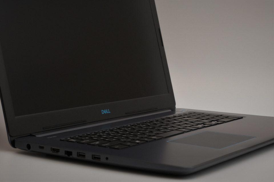 Dell G3 17 開封写真