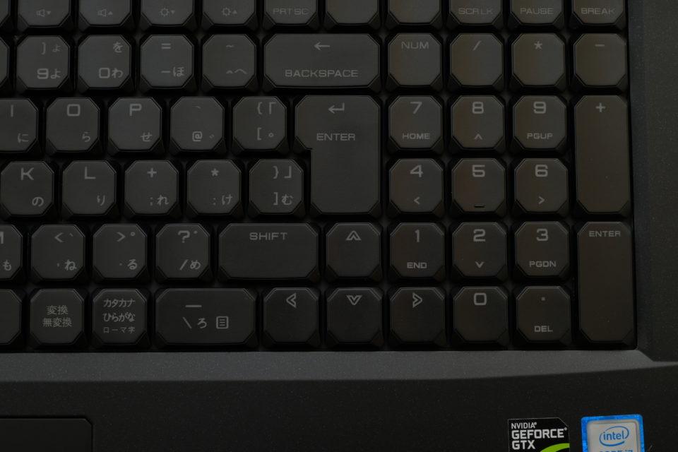 NEXTGEAR-NOTE i7920 キーボード