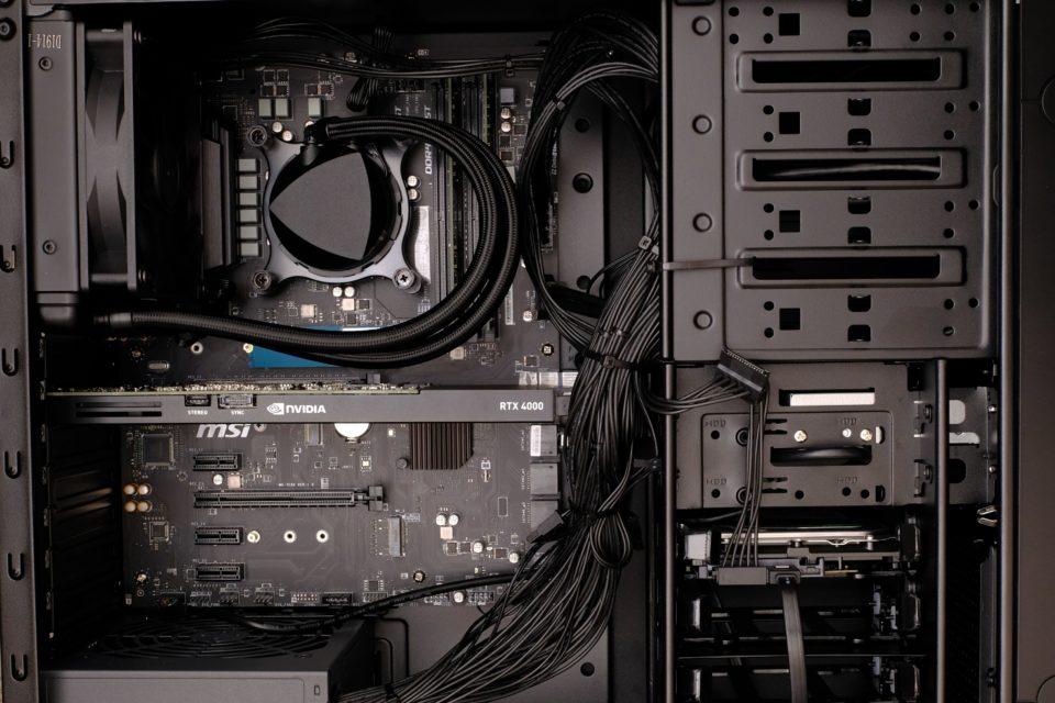 DAIV-DQZ530H5-M2S2-RCM 内部写真