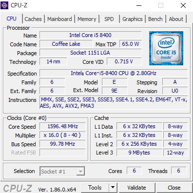 DAIV-NG5300S1-S2 CPUZ
