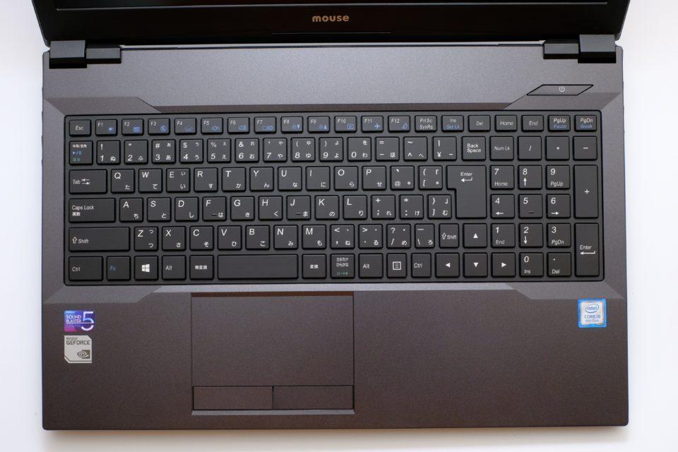DAIV-NG5300S1-S2 写真 キーボード