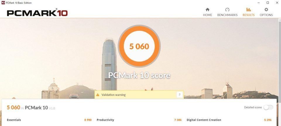 DAIV 3N PCMARK