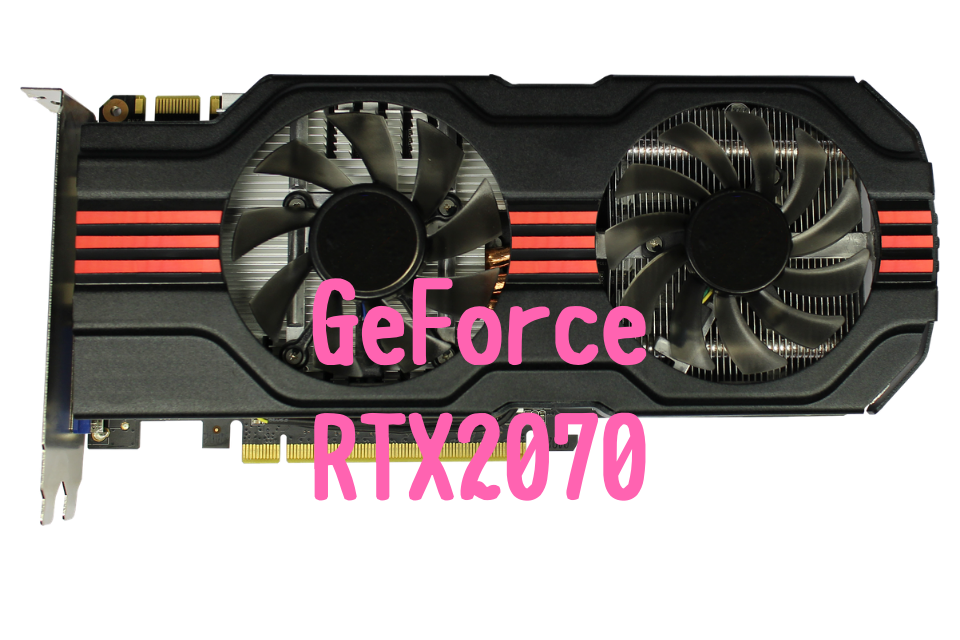GeForce RTX2070 おすすめ パソコン