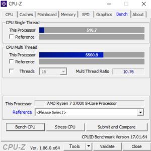 LUV MACHINES AGシリーズ CPUZ Ryzen 7 3700X