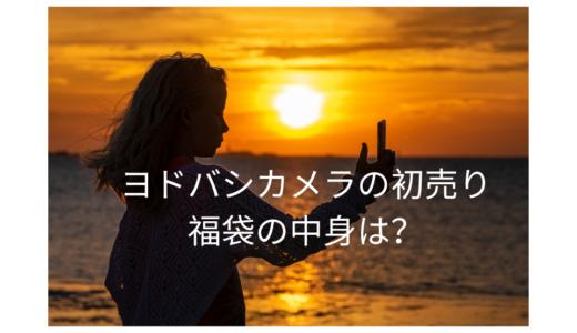 【2020年】ヨドバシカメラの福袋の予約方法や買い方は?