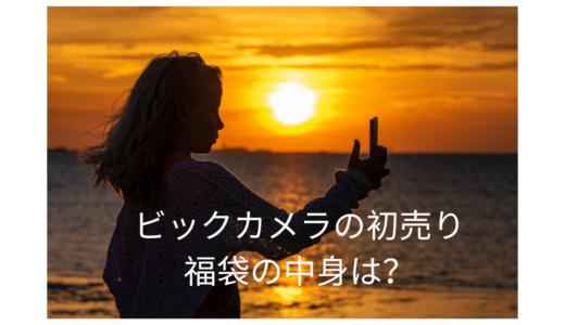 【2019年】ビックカメラの福袋の中身や予約方法は?