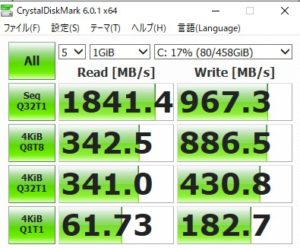ROG ZEPHYRUS G14,SSD,速度,