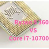 Core i7-10700,Ryzen 5 3600,比較,写真編集,動画編集,