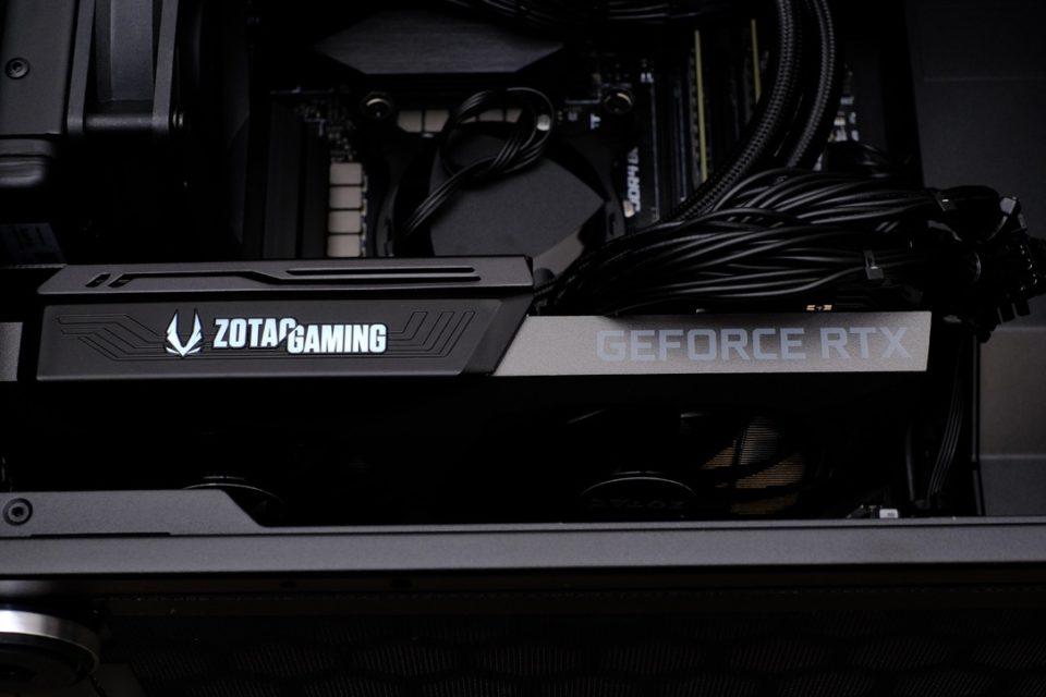 G-Tune XM-Z,内部写真,中身,水冷クーラー,マウスコンピューター,RTX3070