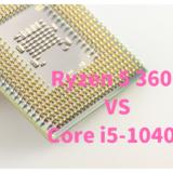 Core i5-10400,Ryzen 5 3600,性能比較,どっち,おすすめ,写真,動画,編集