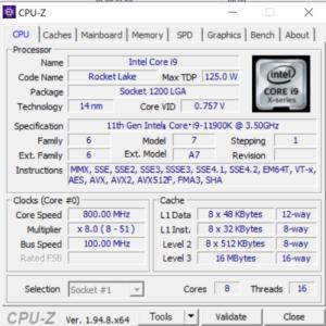 マウスコンピューター,G-Tune PP-Z,レビュー,CPU,Core i9-11900K