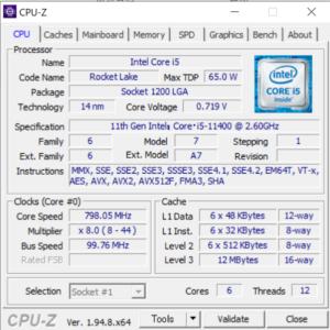 ドスパラ,GALLERIA RM5C-R36T,レビュー,CPU,Core i5-11400,性能,ブログ,