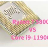 Ryzen 7 5800X,Core i9-11900K,比較,写真編集,RAW現像,おすすめ,どっち,性能,ベンチマーク