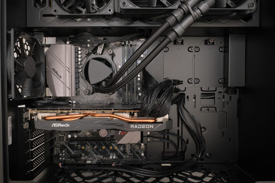 マウスコンピューター,G-Tune EP-A-6700XT,レビュー,CPU,内部写真,開封