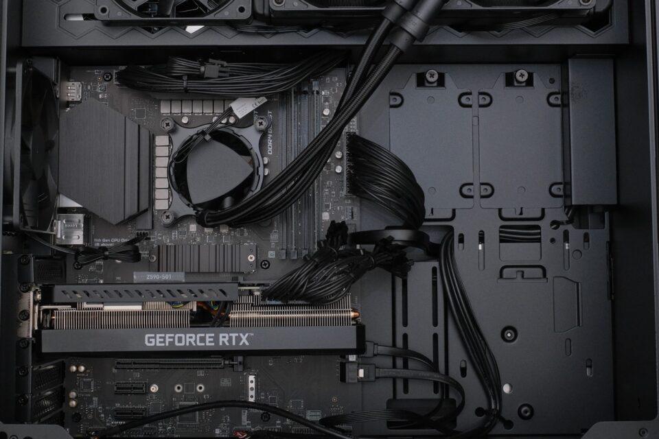 マウスコンピューター,G-Tune PP-Z,レビュー,CPU,内部写真,開封
