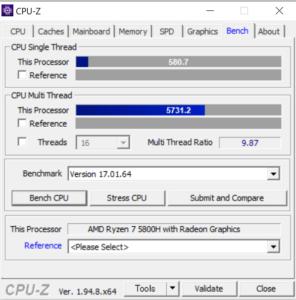 G-Tune E5-165,Ryzen 7 5800H,レビュー,CPU,Core i5-11400,性能,ブログ,