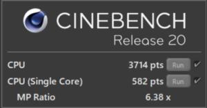 DAIV 5N,Core i7-11800H,CPU性能,比較,ベンチマーク,おすすめ,R20