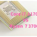 Ryzen 7 3700X,おすすめ,パソコン,デスクトップ,ブログ,評価,口コミ,写真編集,RAW現像,Core i7-11700,比較,性能差,ベンチマーク,どっち